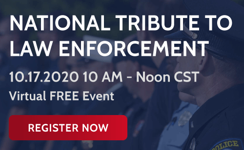 national tribute to law enforcement oct 17 2020 at 10am